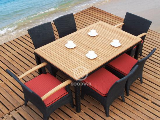 Garden Dining Table Set