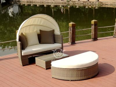 Combination Sunbed For Outdoor