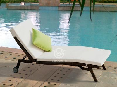 Wicker Rattan Sun lounge